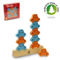 Puzzle 9 voitures