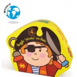 Puzzle bois Pirate