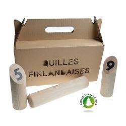 Jeu de quille Finlandaise en carton