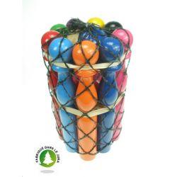 Jeux de quilles multicolor