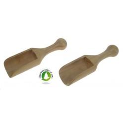 Pelle à sel en buis Lg 80 mm