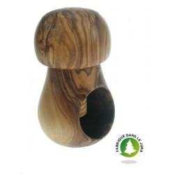 Casse noix champignon en olivier