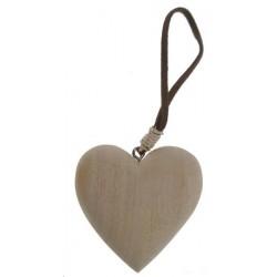 Coeur à peindre 5.5 x5.5 cm