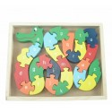 Puzzle serpent alphabet et chiffre