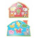 Puzzle ferme 2 modèles 30 x 22.5 x 0,8 cm
