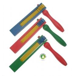 crecelle 1 roue 3 coloris