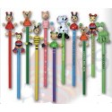 lot de 30 Crayons de papier fantaisie animaux