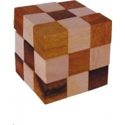 casse tête cube en bois élastique