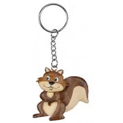 Porte clef écureuil