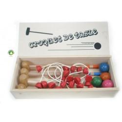 Jeu de croquet de table 4 joueurs