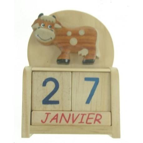 Calendrier Vache