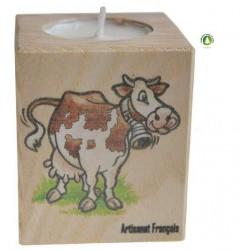 Porte Bougie Vache