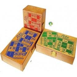 Coffret de loto 24 cartes + 90 j
