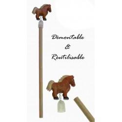 Crayon de papier cheval
