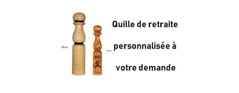 quille de retraite en bois plusieurs dimentions personnalisée sur demande!!!!